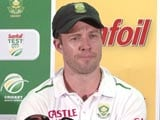 Video: AB de Villiers Disappointed to Lose Series