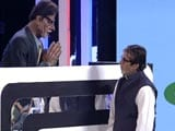 Video: Amitabh Bachchan Takes the Hot Seat