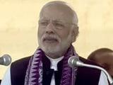 Video : PM Modi Attacks Congress Over 'Lack Of Development' In Assam