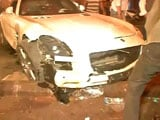 Video : Speeding Mercedes Hits People Sleeping On Mumbai Pavement, 5 Injured