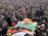 Video : Large Crowds At Terrorist Funerals Worry Security Forces In Kashmir