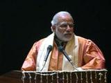 Video : लखनऊ में डॉ. भीमराव अंबेडकर यूनिवर्सिटी में पीएम मोदी के भाषण के दौरान हंगामा