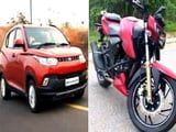 TVS' New Bikes, KUV100 Lunch, Mercedes GLE 450 AMG & Mahindra XUV500 AT