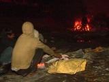 Video : सर्दी के मौसम में गरीबों का श्मशान सहारा
