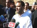 Video : रोहित खुदकुशी मामला : राहुल गांधी ने कहा, अगर पीएम के आंसू सच्चे तो वीसी को हटाएं