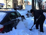 Video : New York Begins Clean-up After Historic Snowstorm