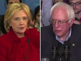 Video : Hillary Clinton, Bernie Sanders Compete For Support In Lowa