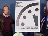 Video: 'Doomsday' Clock Remains At 3 Minutes To Midnight