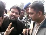 Video: Union Minister Babul Supriyo Stopped By Police In West Bengal's Asansol