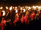 Video : Up Helly Aa Fire Festival Takes Place In Scotland