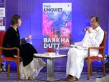 When P Chidambaram Interviewed Barkha Dutt