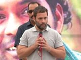 Video : Rahul Gandhi Likens Rohith Vemula To Mahatma Gandhi