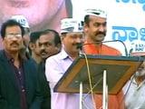 Video: बेंगलुरु में दिल्ली के सीएम अरविंद केजरीवाल की 'ऑटो रैली'