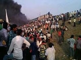 Video : Violent Quota Protests In Andhra Pradesh, Train Coaches Set On Fire