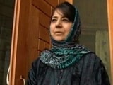 Video : What Mehbooba Mufti Wants BJP To Do In Jammu and Kashmir