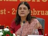Video : मेनका गांधी ने भ्रूण हत्या पर रोक के लिए लिंग जांच की वकालत की