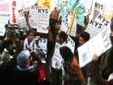 Video : दिल्ली पुलिस मुख्यालय के बाहर छात्रों का विरोध प्रदर्शन