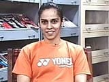 Video : Saina Nehwal's Thumbs Up For Deepika Padukone In Biopic
