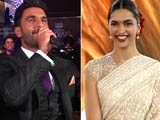 Video : Ranveer Croons for Deepika, Talks Of 'Looking into Her Eyes'