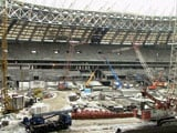Moscow FIFA World Cup Venue 'Ahead of Schedule'
