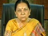 Video : Congress Wants Gujarat Chief Minister Anandiben To Quit Over Land Deal
