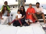 Video : Bachchans' Ring in Junior B's Birthday in Maldives