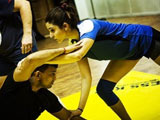 Anushka Sharma Tweets Pics From <i>Sultan</i> Training Schedule