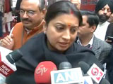 Video: Won't Tolerate Insult To Mother India, Says Smriti Irani On JNU Protest