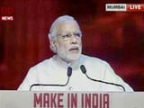 Video : We Want Manufacturing to be 25% of Our GDP: PM Modi at Make In India