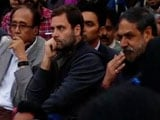 Video: Rahul Gandhi Visits JNU Campus, Accuses NDA Of Suppressing Students' Voice