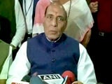 Video : JNU Protests Supported by Lashkar Chief Hafiz Saeed, Says Rajnath Singh