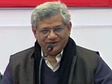Video : Seeking Support Of Democratic Forces In Bengal, Says CPM's Sitaram Yechury