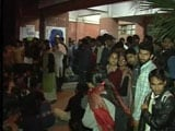 Video : JNU Students Accused Of Sedition Surface On Campus, Wait For Police
