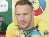 Faf du Plessis Happy With Death Bowling Ahead of World Twenty20
