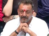 Video : Sanjay Dutt Walks Out Of Jail, Says 'I Am Not A Terrorist'
