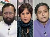 Video : Javadekar Vs Tharoor: Who Is Winning The Sedition Debate?