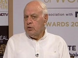 Video : Farooq Abdullah Speaks About Women Rights