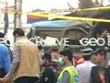 Video : At Least 16 Killed, 24 Injured In Bus Blast In Pakistan's Peshawar