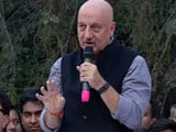 Video : Those On Bail Are Not Olympic Heroes, Says Anupam Kher At JNU