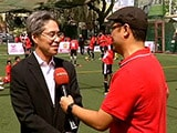 Video : NDTV Nissin Manchester Soccer School: Day 1, Mumbai