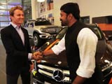 Video : #GLAadventure: Meeting Hamilton & Rosberg Is Like A Dream Come True