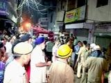 Video : दिल्ली : डबल सिलेंडर धमाका, 6 लोगों की मौत