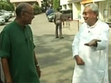 Video: Nitish Kumar's First TV Interview After Winning Bihar Election