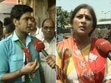 Video: In Howrah, A Match Between BJP's Roopa Ganguly And Trinamool's Shukla