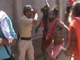 Video : At Simhastha Kumbh Mela, Sadhus Attack Police During Clash