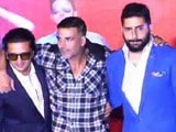 Video : Housefull 3 Trailer Launch Was Housefull Indeed