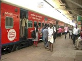 Video: On Track For Kerala Elections, Trains Wrapped In Ads