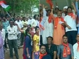 Video : It's A Tie Between The BJP, Congress In Gandhinagar Civic Body