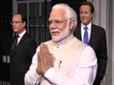 Video: PM Modi Joins Obama, Cameron At London's Madame Tussauds Wax Museum