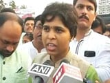 Video : Trupti Desai At The Doors Of Mumbai's Haji Ali Dargah, Says Will Enter